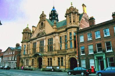 Hereford City Hall, Hereforshire