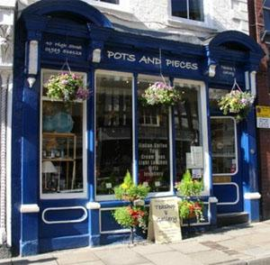 Pots and Pieces Tea Room, Ross on Wye