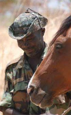 Counting the human cost. Brahim Khamis, a ranger based in Zakouma National Park, was killed in a surprise attack during morning prayers. A disturbing number of rangers in Africa have lost their lives in the line of duty.