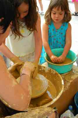 Pottery classes with the kids - Ledbury