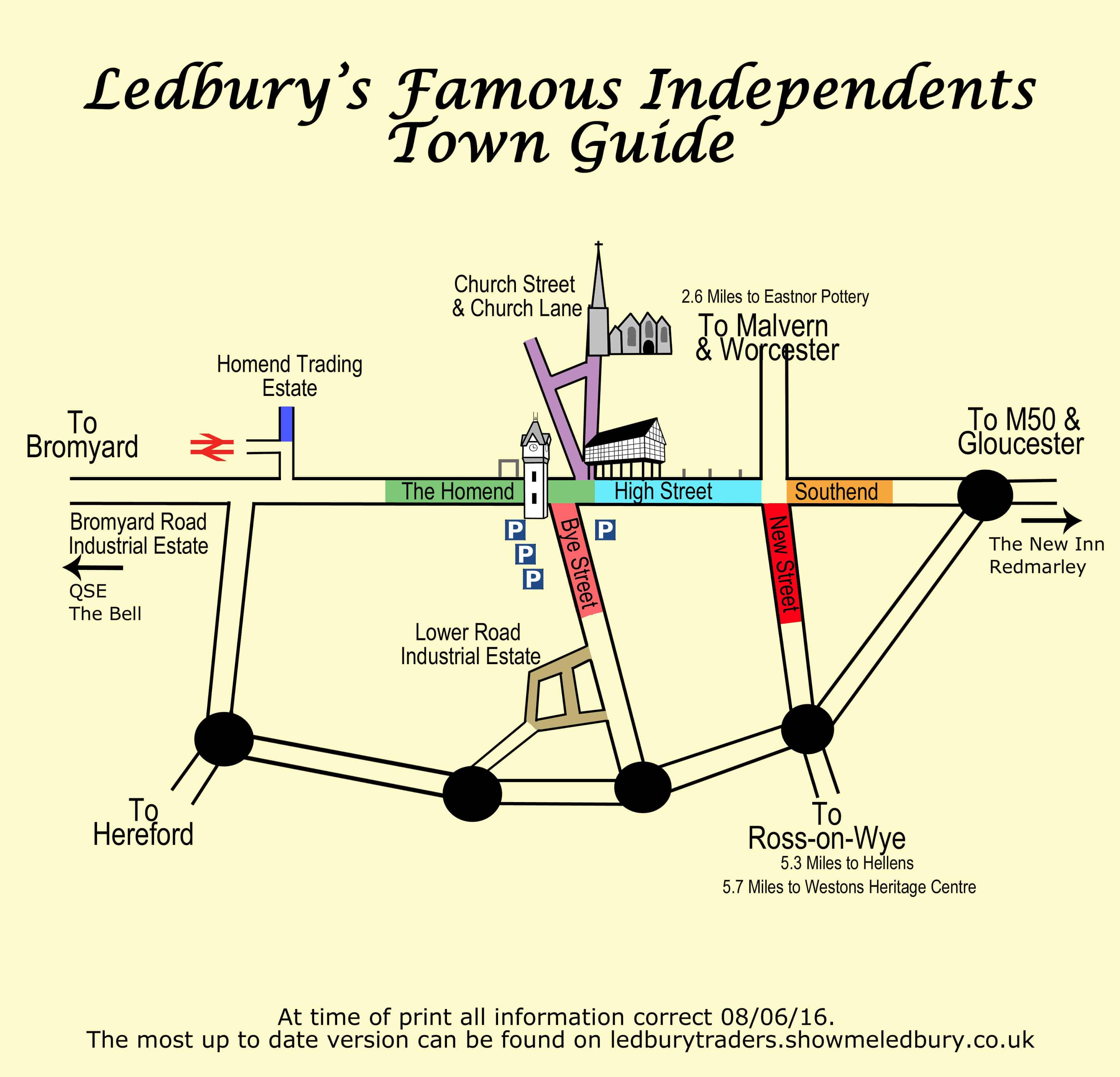Shopping In Ledbury Browse Over 100 Shops And Street Map
