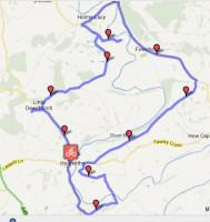 Country Churches Cycle Map, Herefordshire