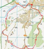 Ross-on-wye and Chase Wood Map